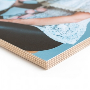 Birch Wood Photo Blocks
